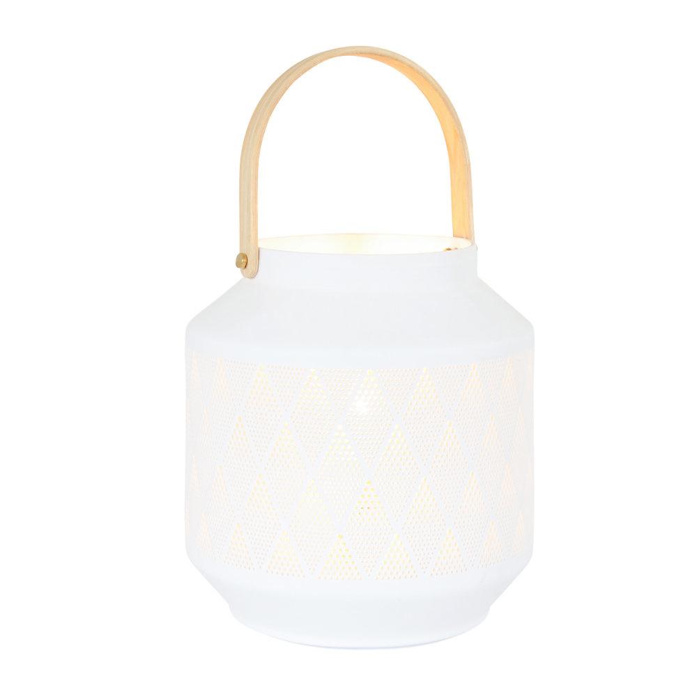 Anne Light & home Tafellamp anne light en home porcelain 3057w wit