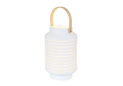 Anne Light & home Tafellamp anne light en home porcelain 3058w wit