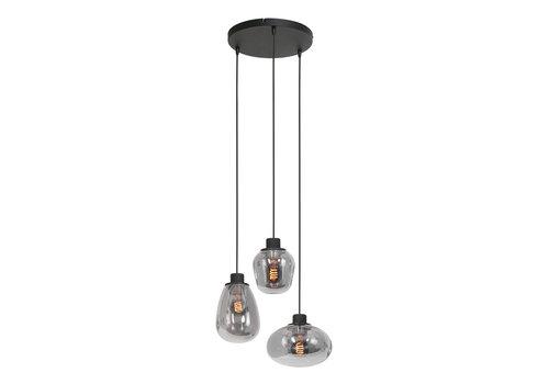 Steinhauer Hanglamp reflexion Ø 40 cm 3079 zwart