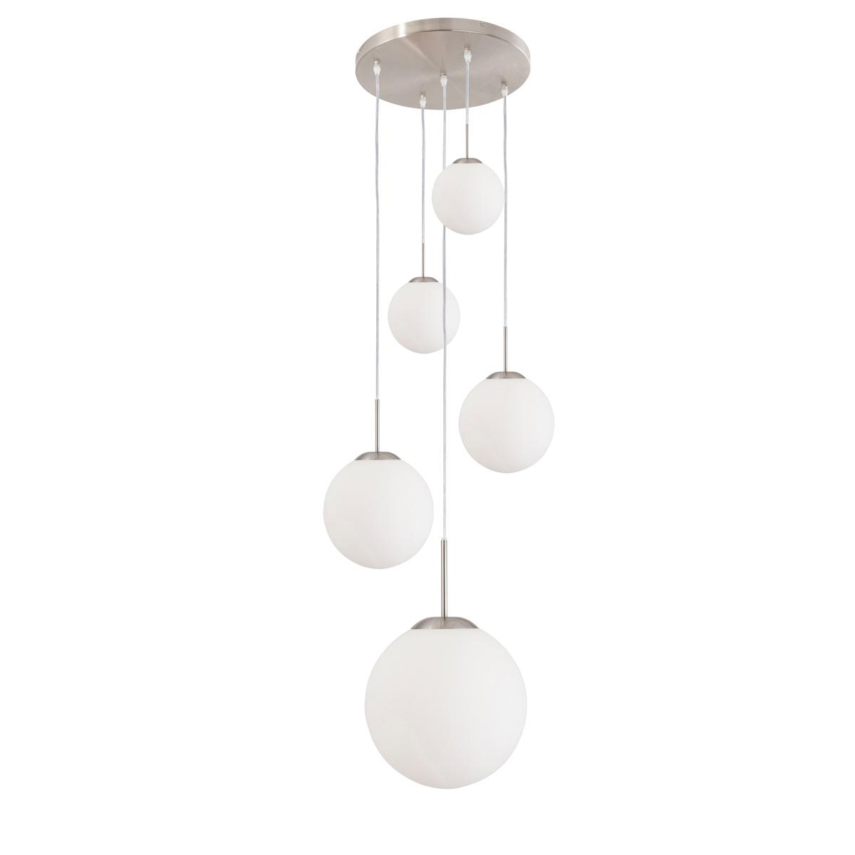 Steinhauer Hanglamp bollique Ø 60 cm 7376 staal