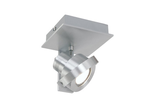Steinhauer Spot quatro 1 lichts LED 7549 staal