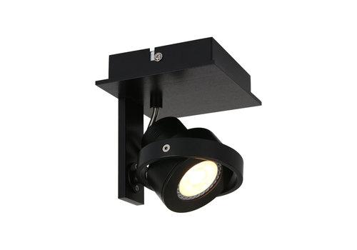 Steinhauer Spot quatro 1 lichts LED 7549 zwart