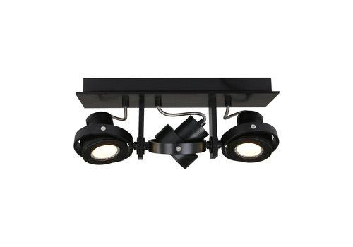 Steinhauer Spot quatro 3 lichts LED 7551 zwart