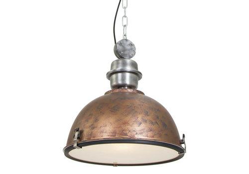Steinhauer Hanglamp industrieel 7586b oud bruin