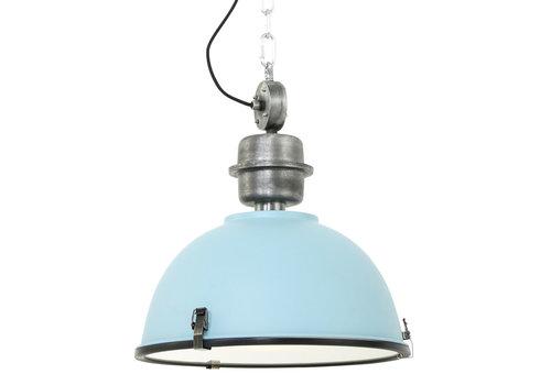 Steinhauer Hanglamp industrieel 7586b blauw