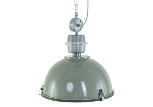 Steinhauer Hanglamp industrieel 7586g groen
