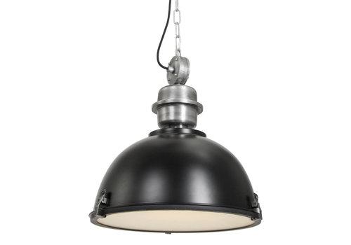 Steinhauer Hanglamp industrieel 7586zw zwart