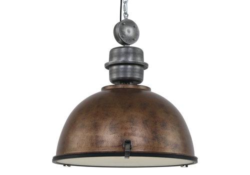 Steinhauer Hanglamp bikkelxxl 7834b bruin