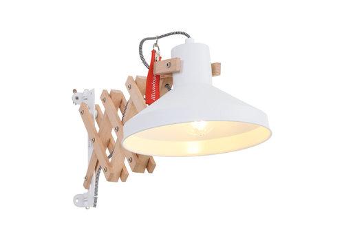 Anne Light & home Schaarlamp woody 7900be beige