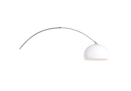 Steinhauer Wandlamp Sparkled light 8200st staal kap kunststof wit