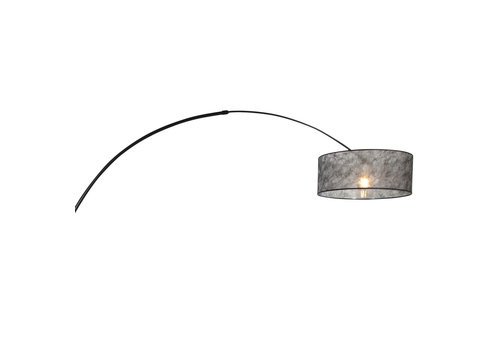 Steinhauer Vloerlamp Sparkled light 9834 zwart kap zwart sizoflor