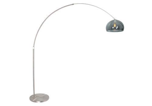 Steinhauer Vloerlamp Sparkled light 9879 staal kap kunststof grijs