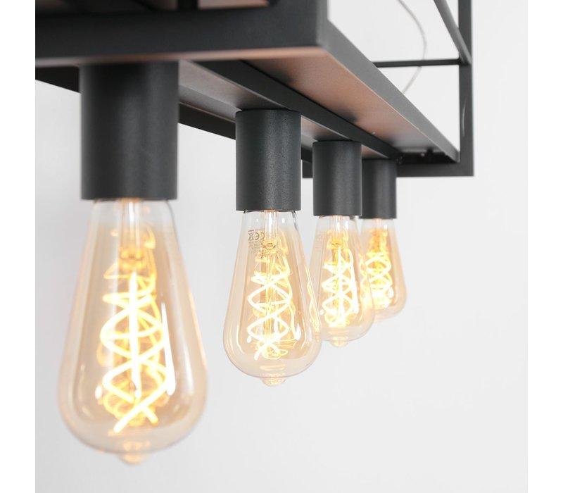 Hanglamp mexlite buckley Rek 2983 zwart