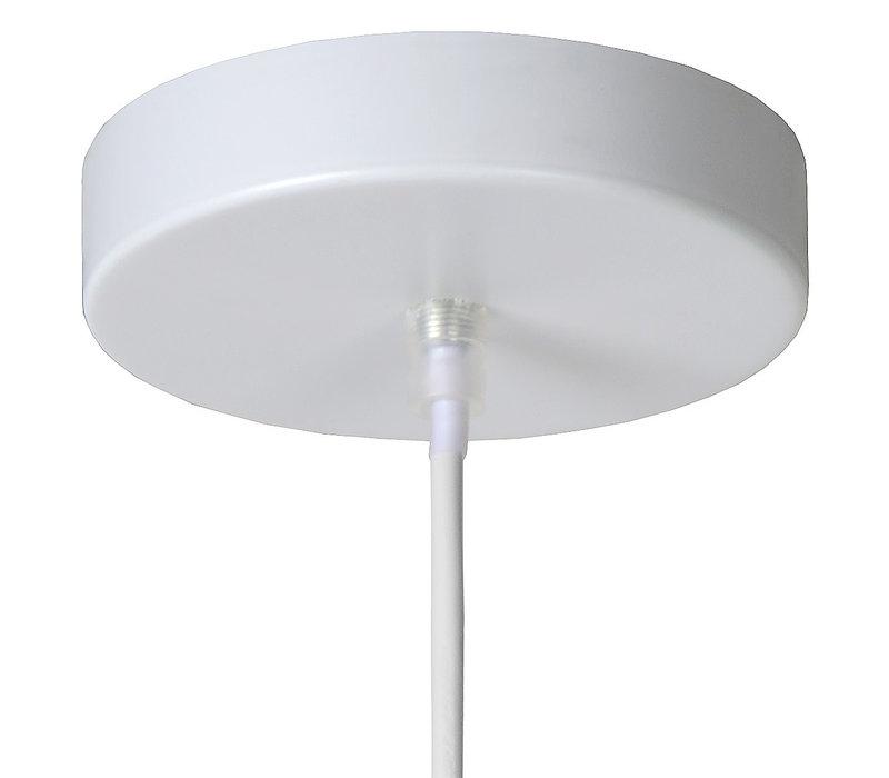 GALLA Hanglamp-Wit-Ø25-1xE27-60W-Metaal