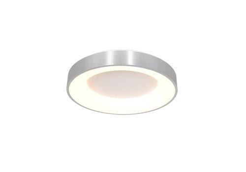 Steinhauer Plafondlamp Ringlede Ø 38 cm 2562 zilver