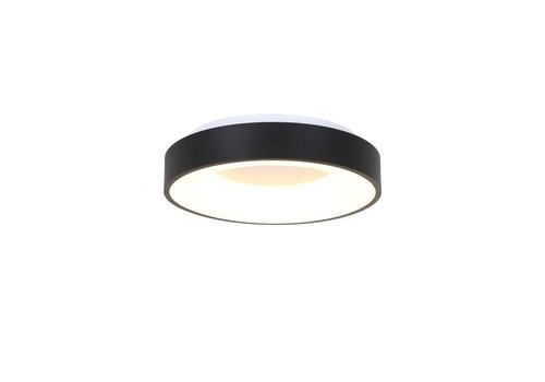 Steinhauer Plafondlamp Ringlede Ø 30 cm 3086 zwart