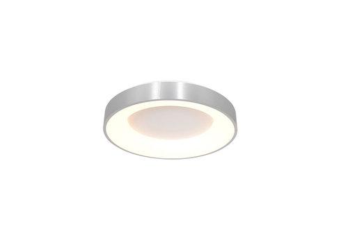 Steinhauer Plafondlamp Ringlede Ø 30 cm 3086 zilver