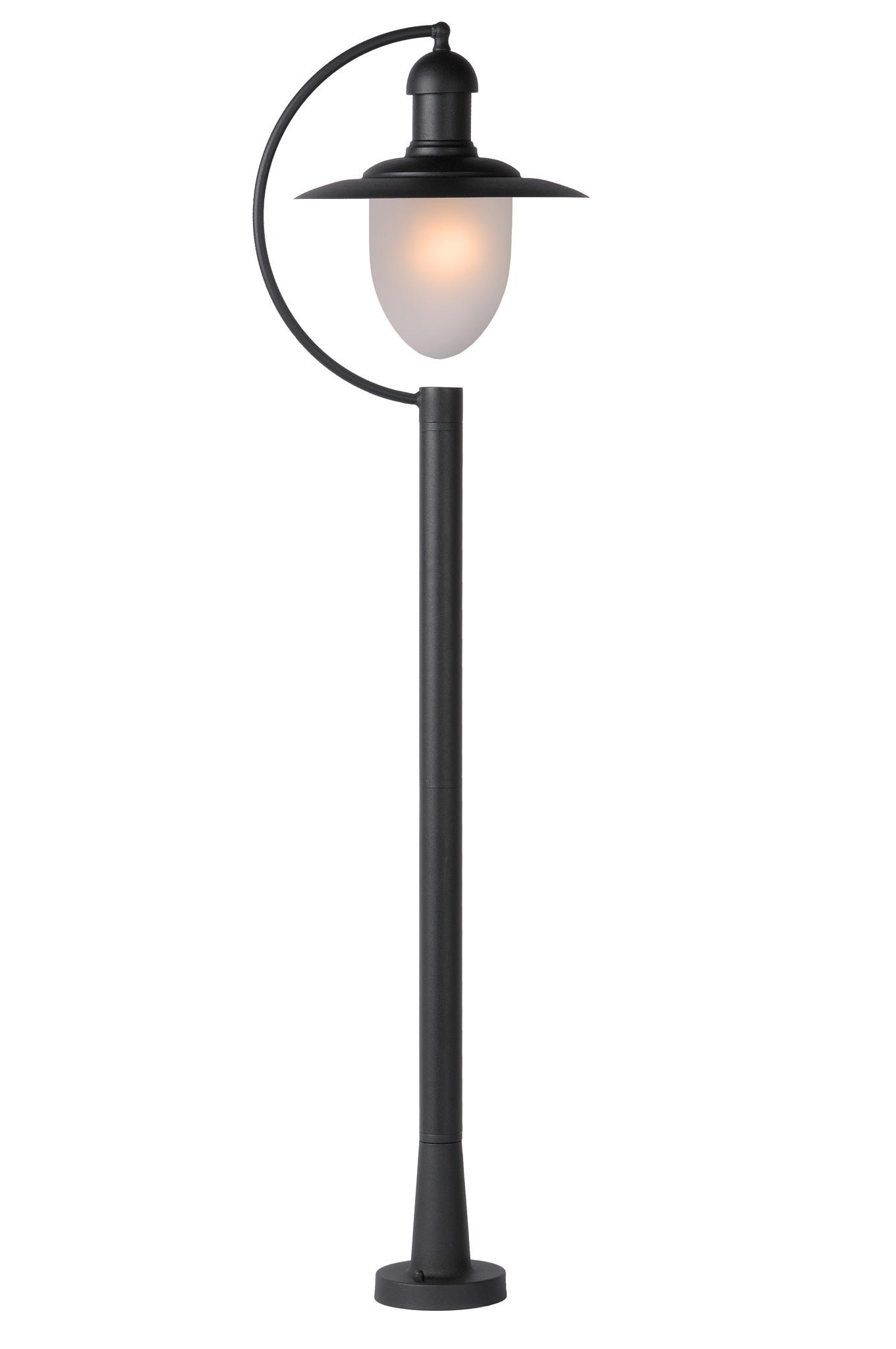 ARUBA Lantaarnpaal Buiten-Zwart-1xE27-24W-IP44