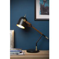 WAYLON Bureaulamp-Zwart-1xE27-25W-Metaal