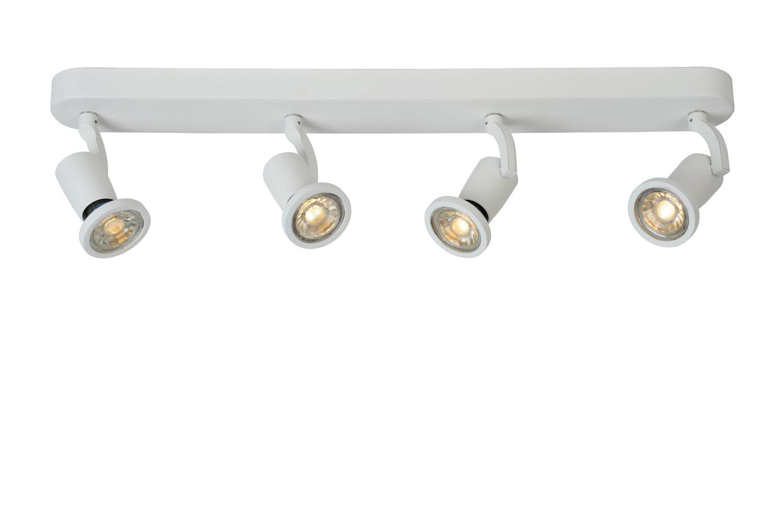 JASTER-L. Plafondspot-Wit-LED-4xGU10-5W-2700K