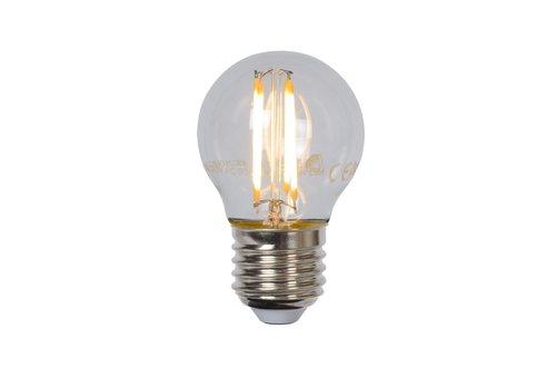 G45 Fil. lamp-Transp.-LED Dimb.-1xE27-4W-2700K