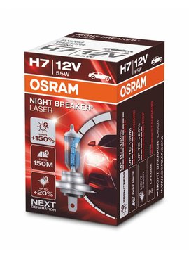 Osram H7 Nightbreaker laser Single