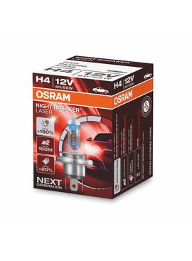 Osram H4 Nightbreaker laser Single