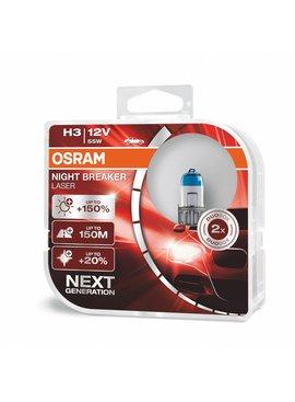 Osram H3 Nightbreaker laser Duo