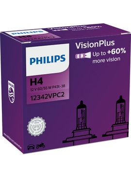 Philips H4 Vision Plus