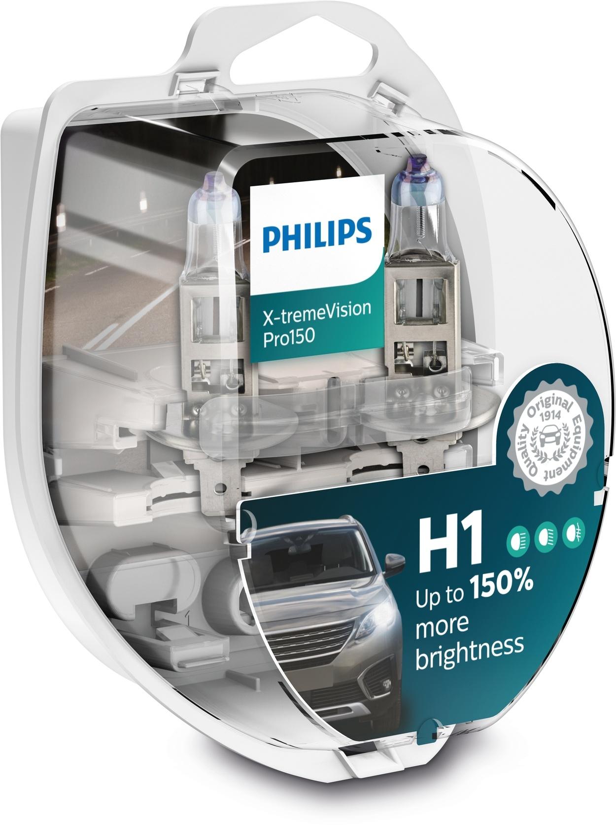 Philips H1 XtremeVision Pro150 Duobox