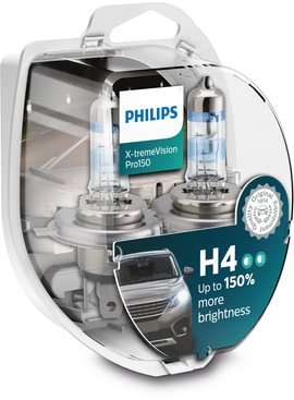 Philips H4 XtremeVision pro150 Duobox