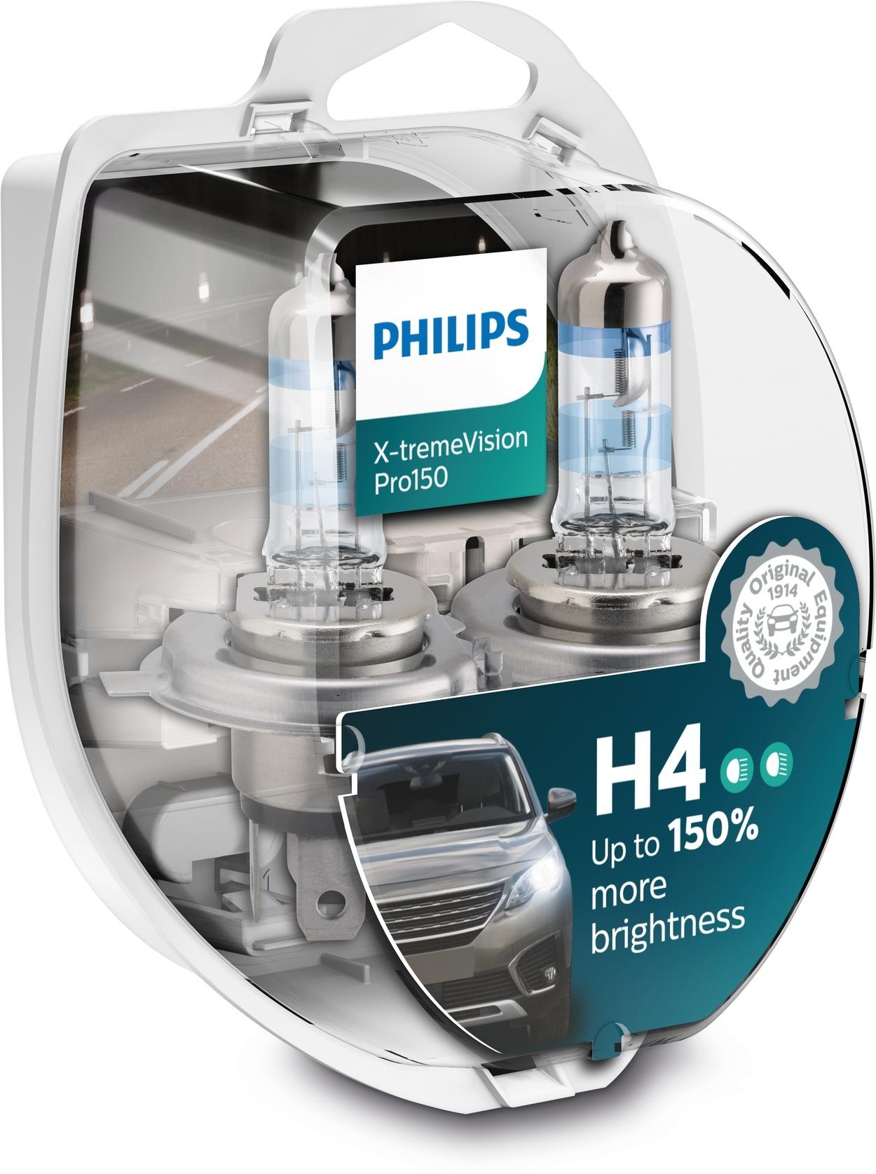 Philips H4 XtremeVision pro150 Duobox