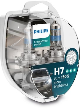 Philips H7 XtremeVision pro150 Duobox