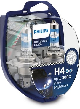 Philips H4 RacingVision GT200 Duobox
