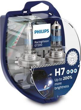 Philips H7 RacingVision GT200 Duobox