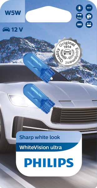 Philips Whitevision ULTRA Wedge Base
