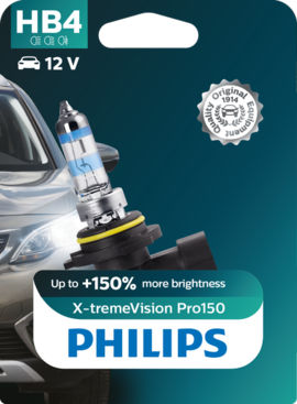 Philips  HB4 / 9006 XtremeVision pro150