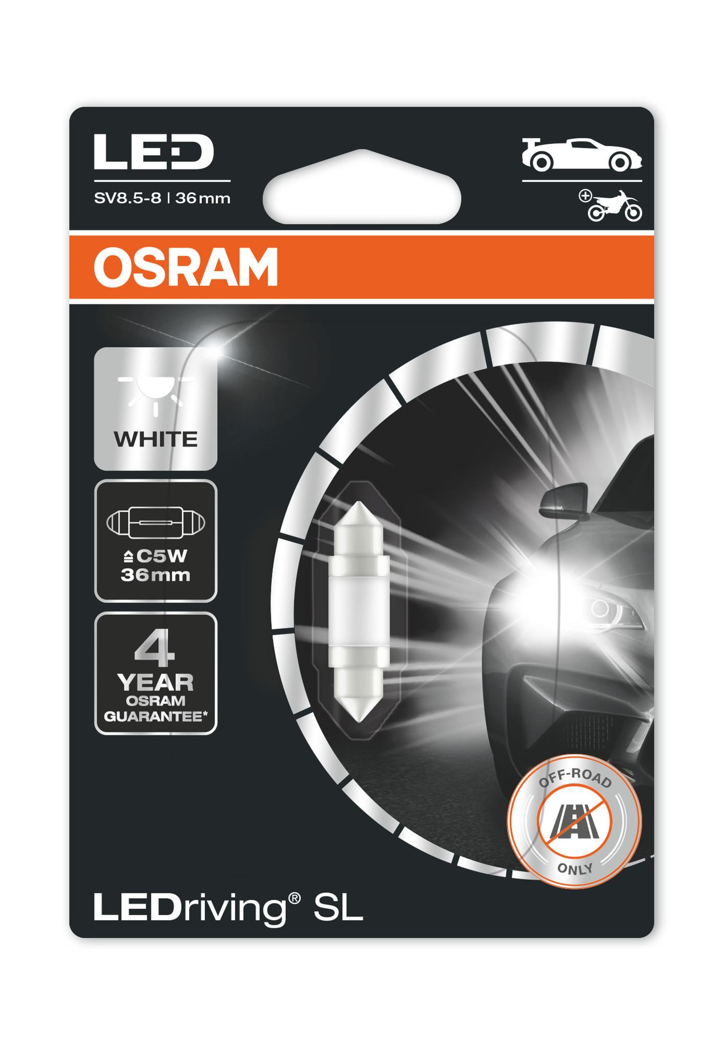 Osram Ledriving Premium C5W 6000k