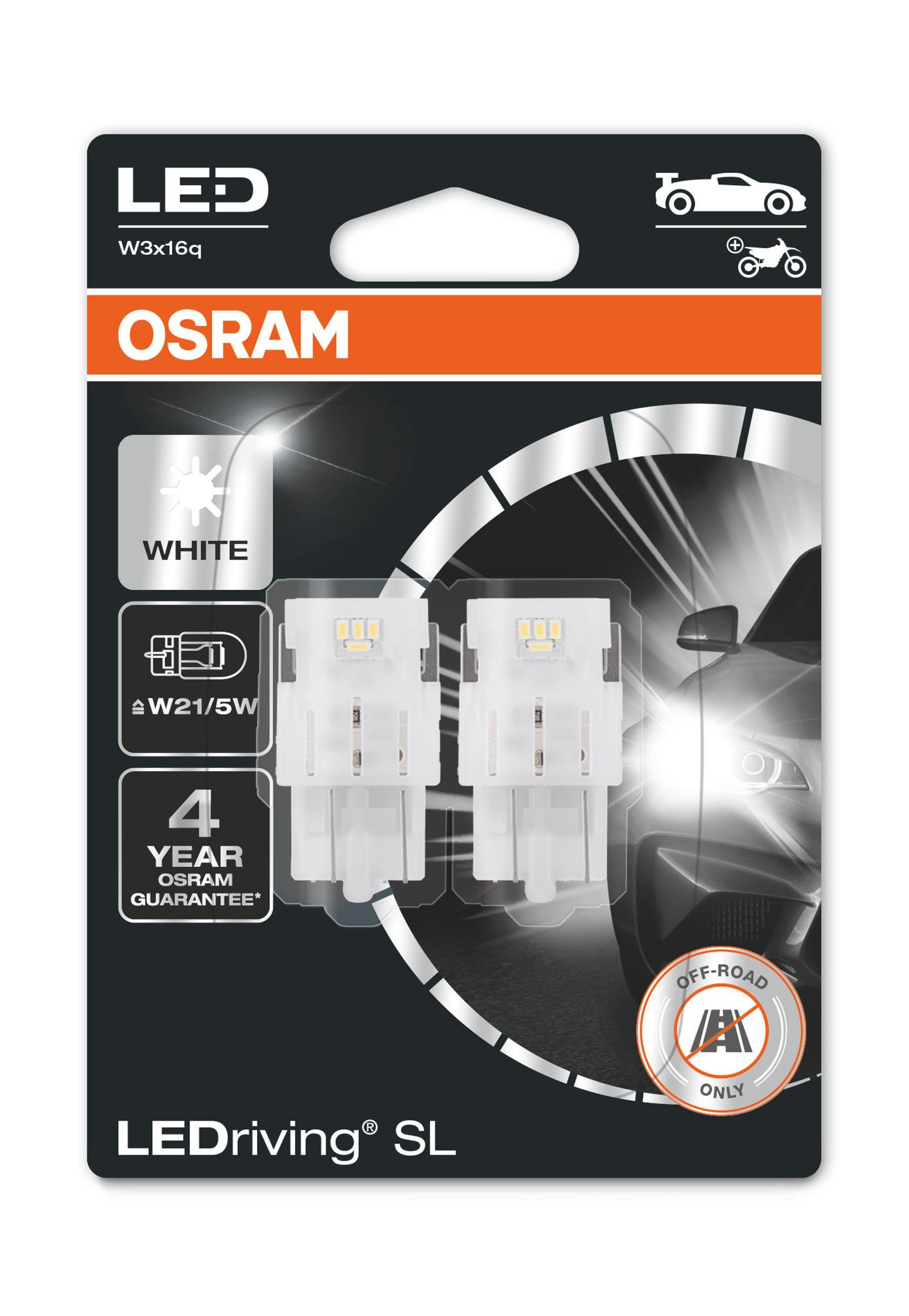 Osram Ledriving Premium W21/5 6000k