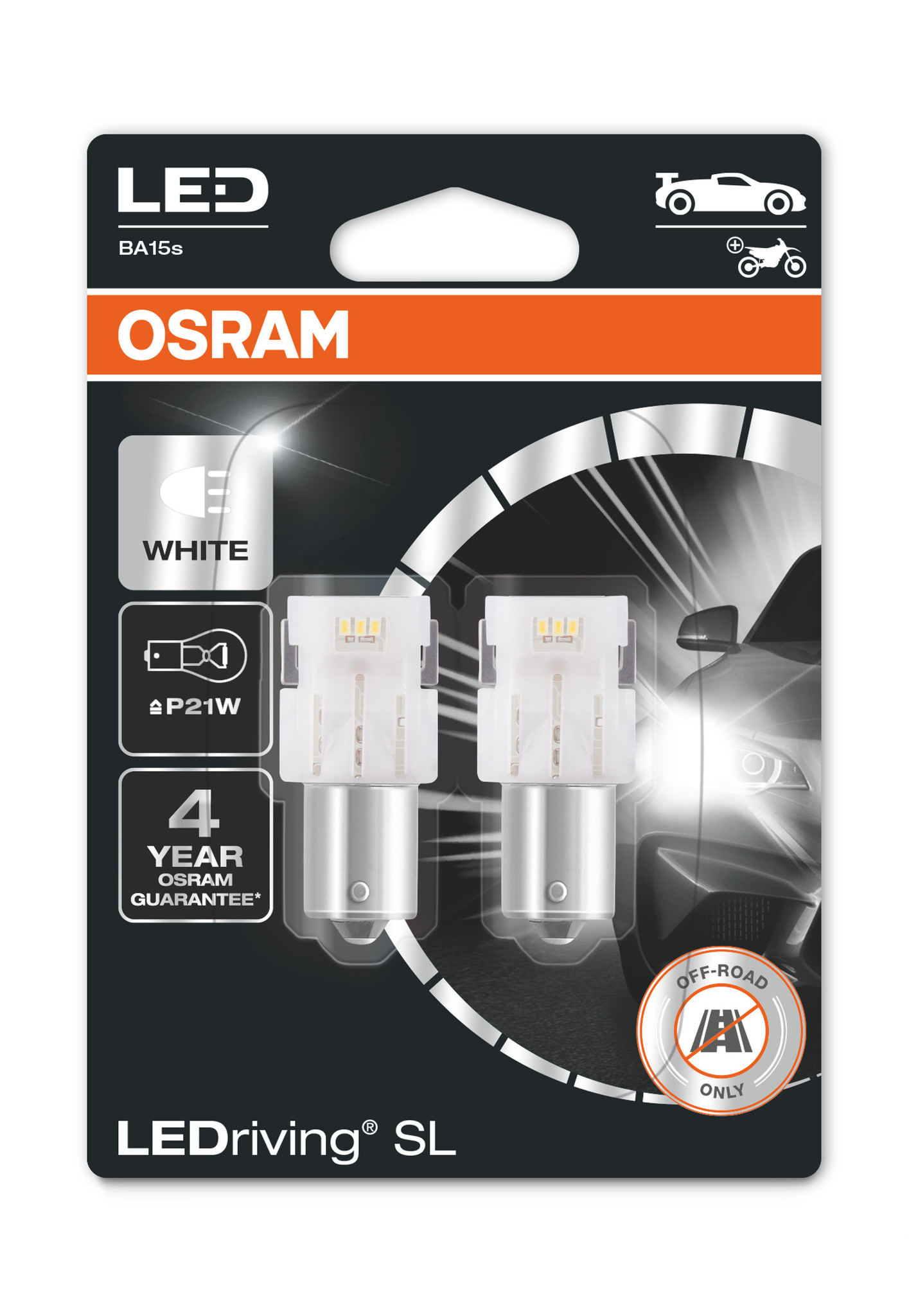 Osram Ledriving P21W 6000k