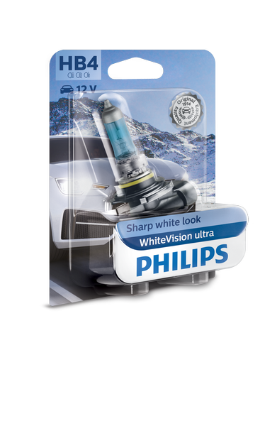 Philips  HB4 / 9006 Whitevision ULTRA
