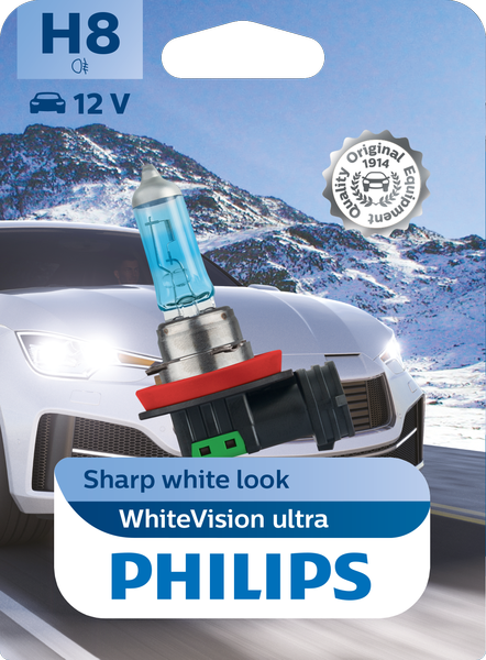 Philips H8 Whitevision ULTRA