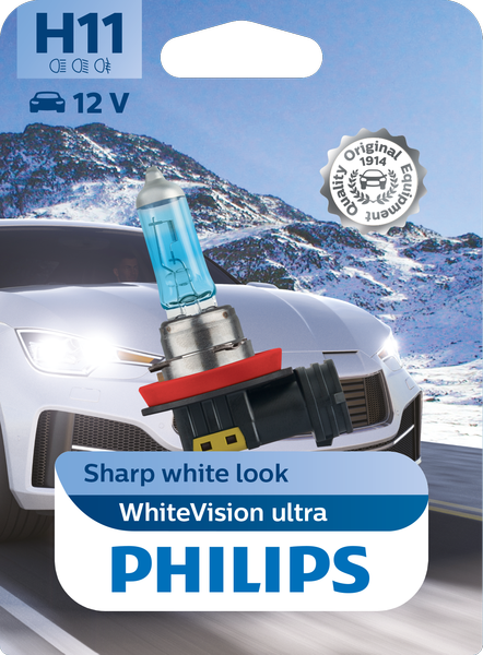 Philips H11 Whitevision ULTRA