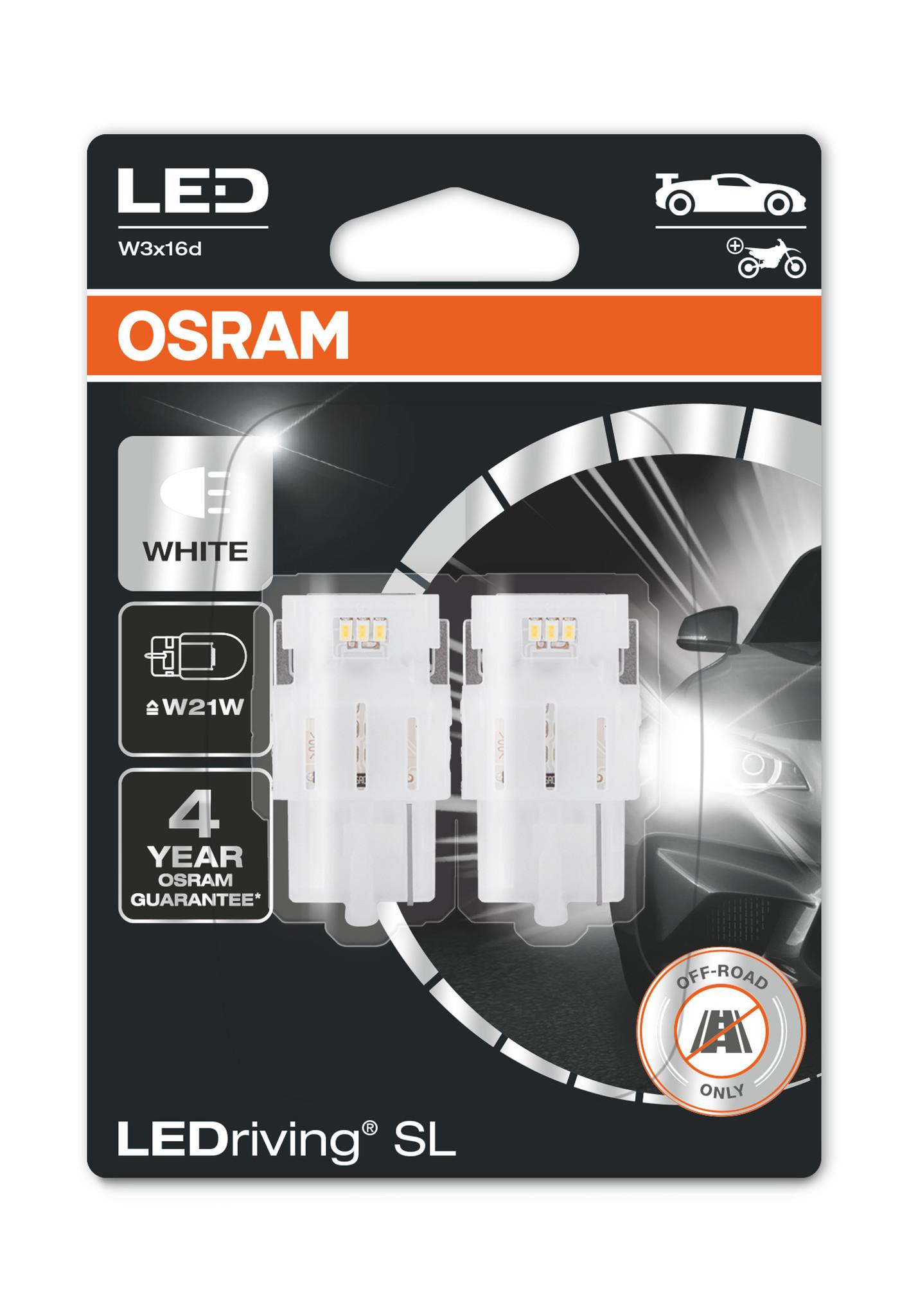 Osram Ledriving W21W 6000k