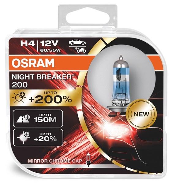 Osram H4 Nightbreaker 200