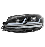 Osram FULL LED koplampunit Golf 7,5 Facelift halogeen Black Edition