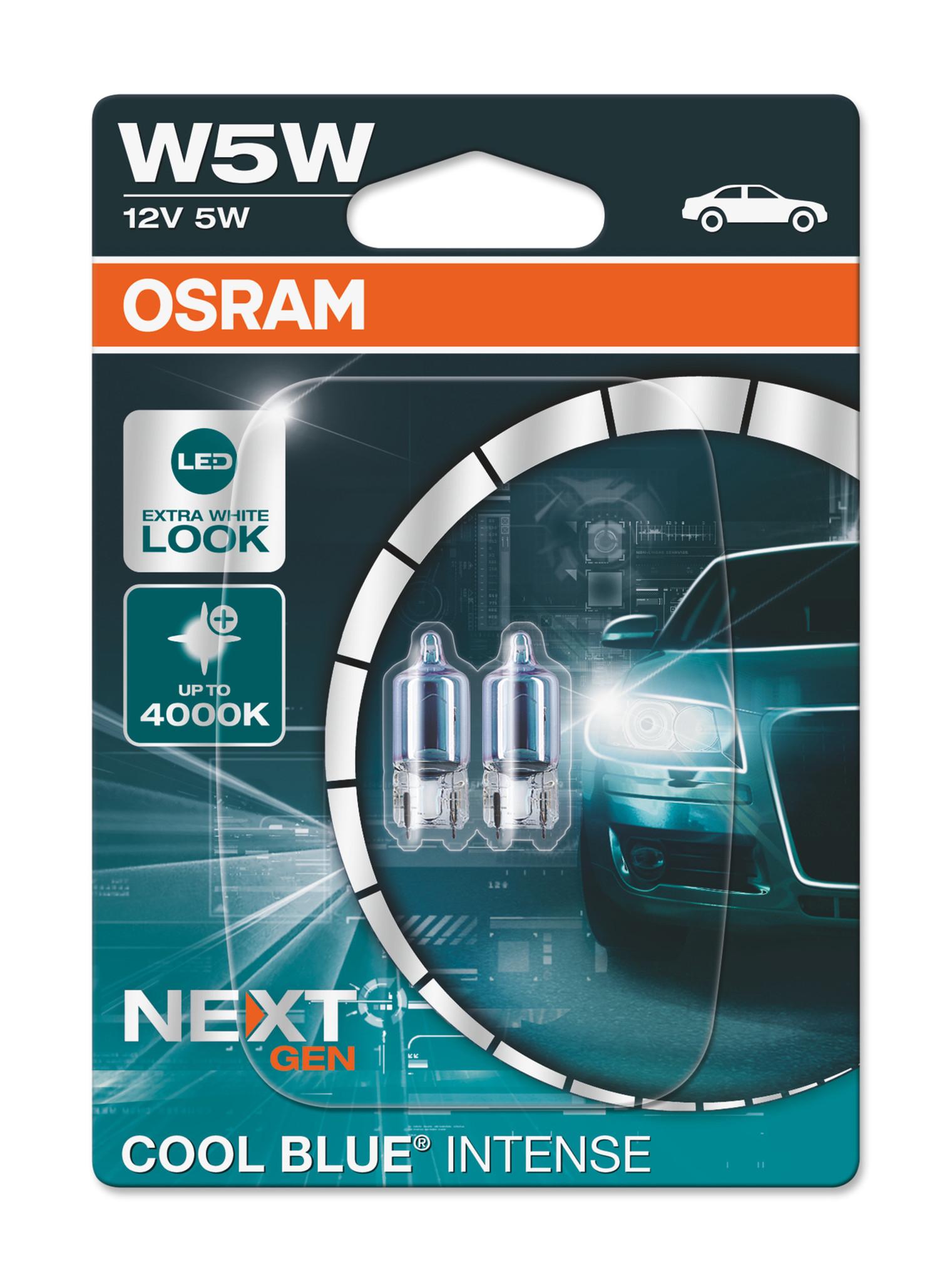 Osram COOL BLUE® INTENSE (NextGen) W5W