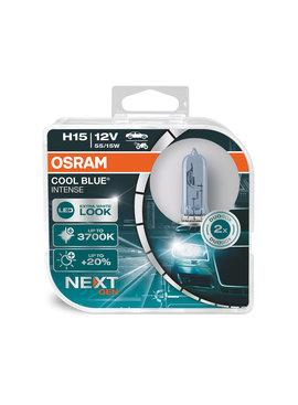Osram COOL BLUE® INTENSE (NextGen) H15 +100%