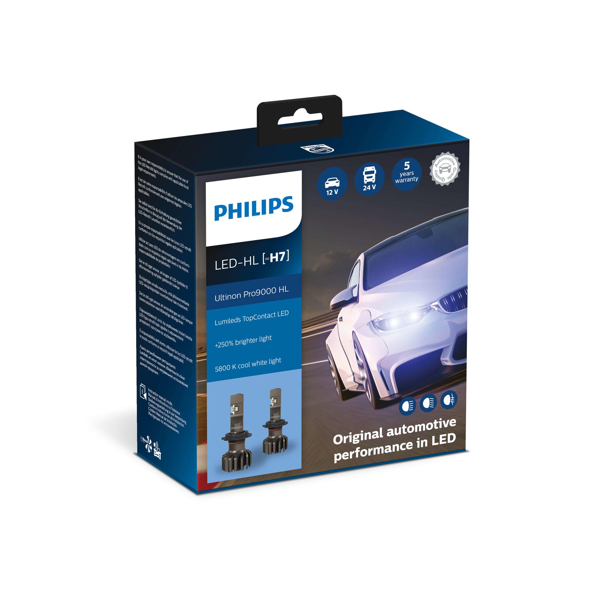 Philips LED H7 Ultinon Pro9000 HL