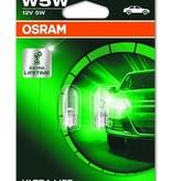 Osram Ultralife 12v 5w wedge base